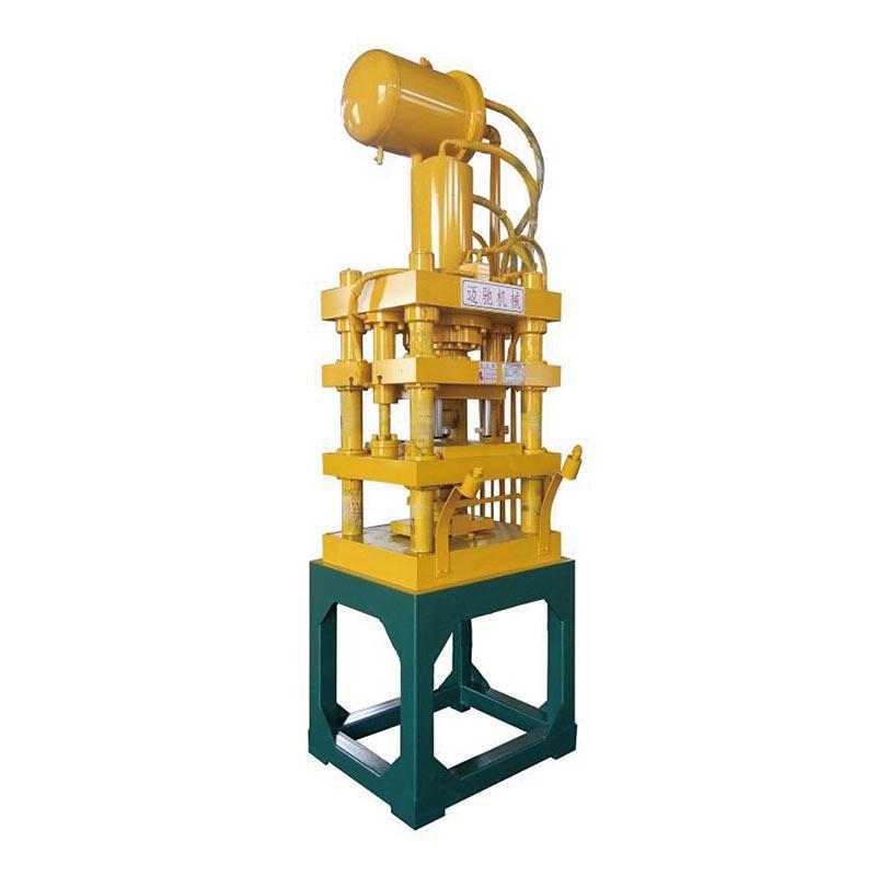 单向浮动模框液压机